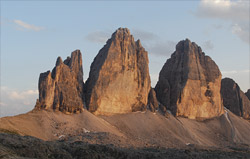 """Tre Cime"" in the Dolomites"