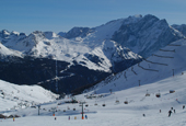 South Tyrol - ski resort Plan de Corones